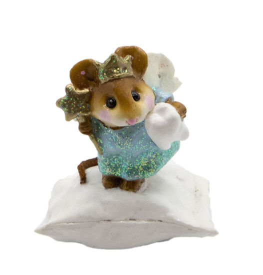 Tooth Fairy M-148 (Glitter Teal) by Wee Forest Folk®
