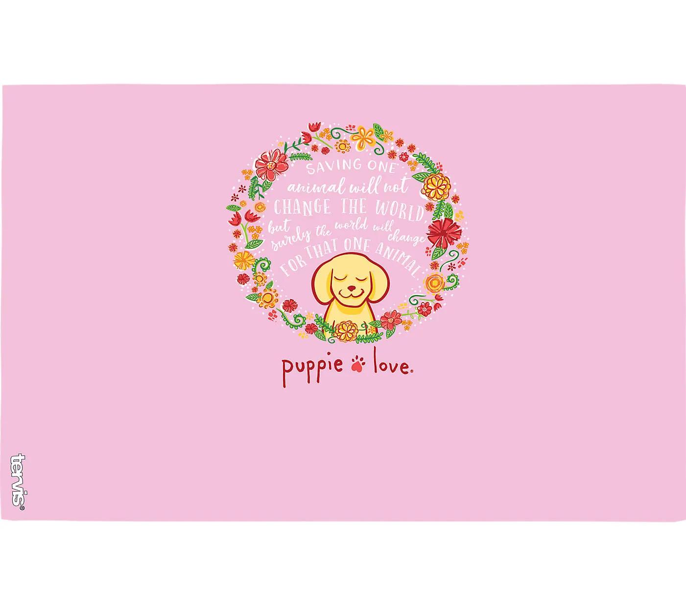 Puppie Love - Flower Wreath 16oz. by Tervis