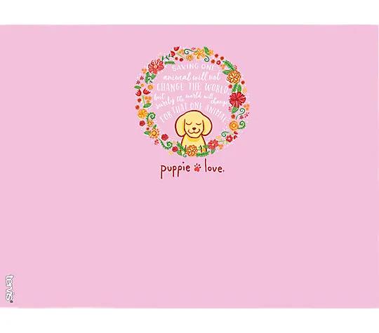 Puppie Love - Flower Wreath 24oz Tumbler by Tervis