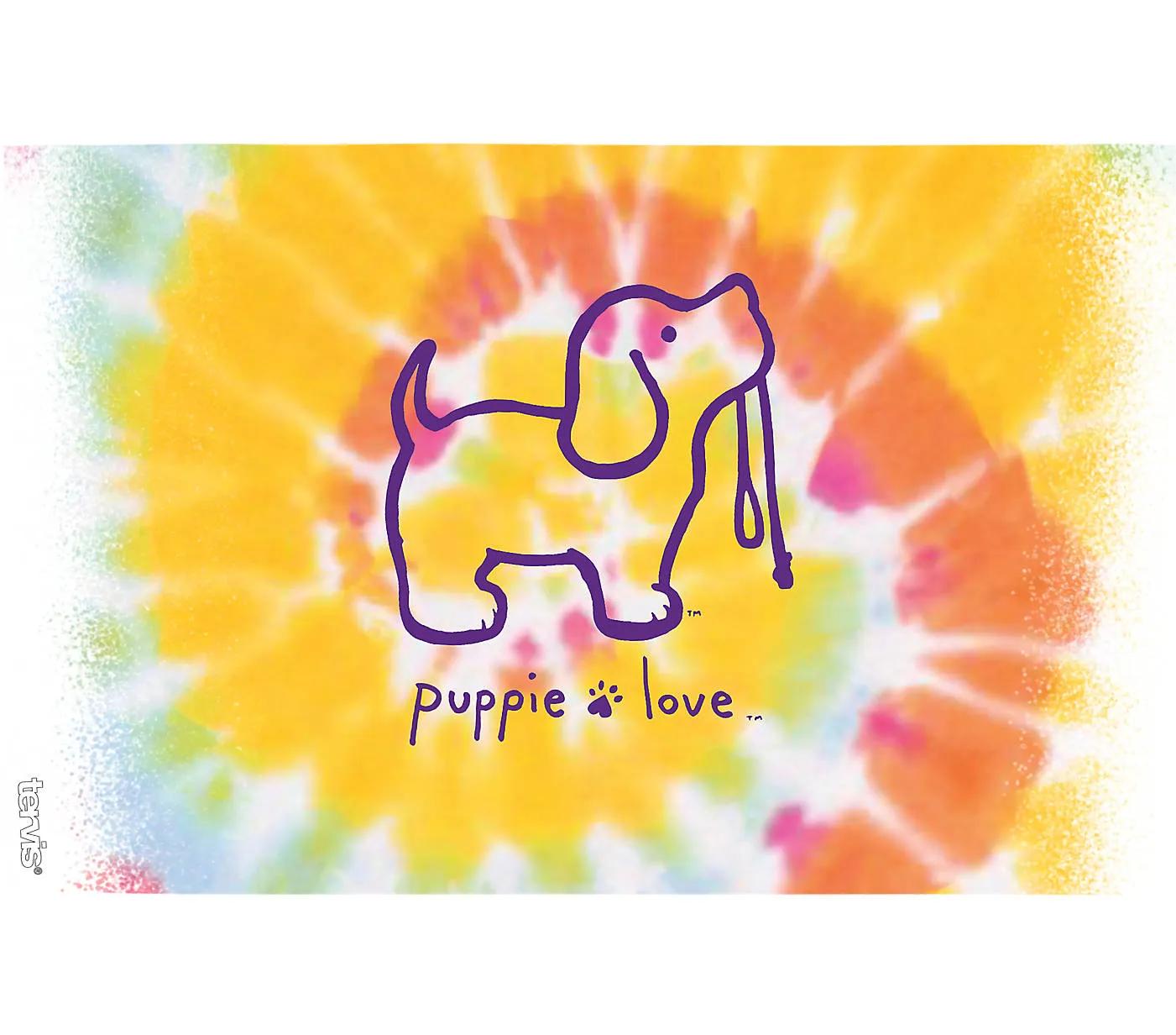 Puppie Love - Tie Dye Puppy 16oz. by Tervis