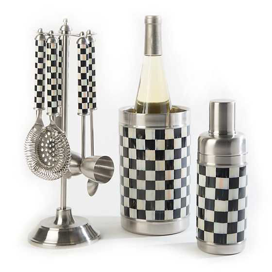 Courtly Check Bar Tool Set by MacKenzie-Childs