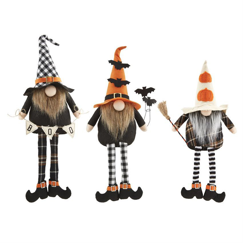 Halloween Dangle Leg Gnomes (Assorted) by Mudpie