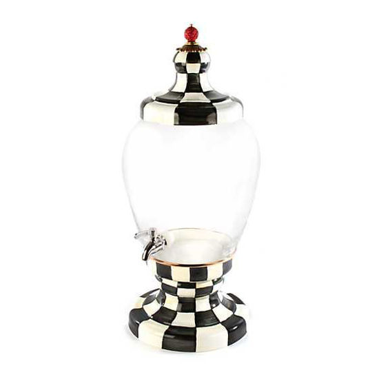 Courtly Check Enamel Beverage Hostess by MacKenzie-Childs