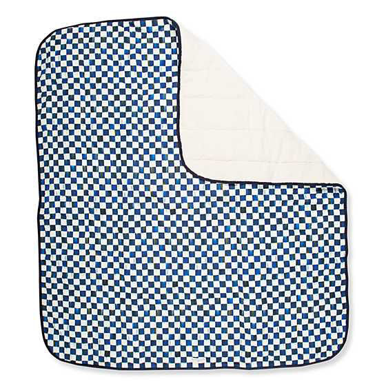 Large Royal Check Pet Blanket by MacKenzie-Childs