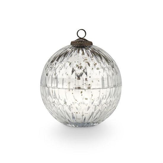 Balsam & Cedar Mercury Ornament Candle by Illume