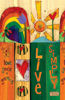 "Live 10"" Mini Art Pole by Studio M"