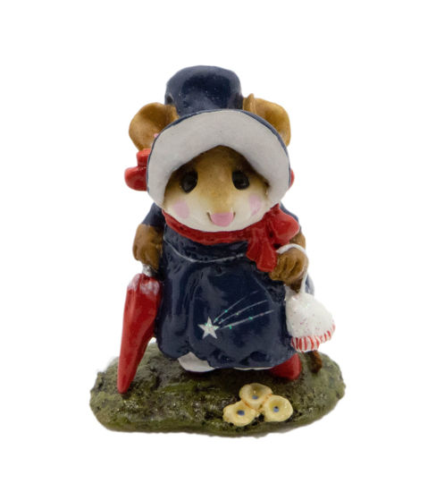Lady Mousebatten M-195b (USA Navy Special) by Wee Forest Folk®