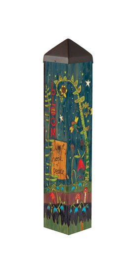 """Secret Garden 20"""" Art Pole by Studio M"""