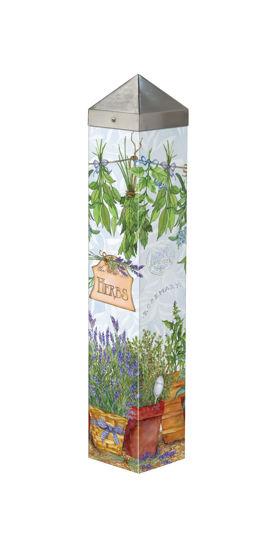 "Herbs 20"" Art Pole by Studio M"