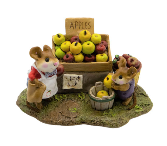 Adam's Apples M-187a (Green/Red/Yellow Apple Special) by Wee Forest Folk®