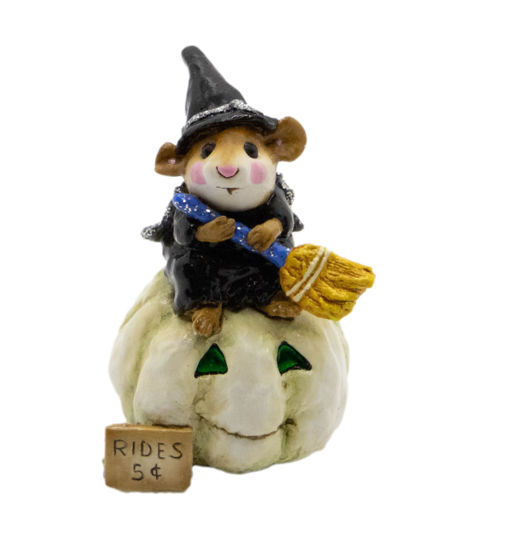 Broom Service M-205 (White Pumpkin Special) by Wee Forest Folk®