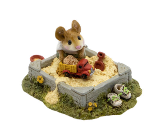 Jack in the Sandbox M-206 (Green) by Wee Forest Folk®