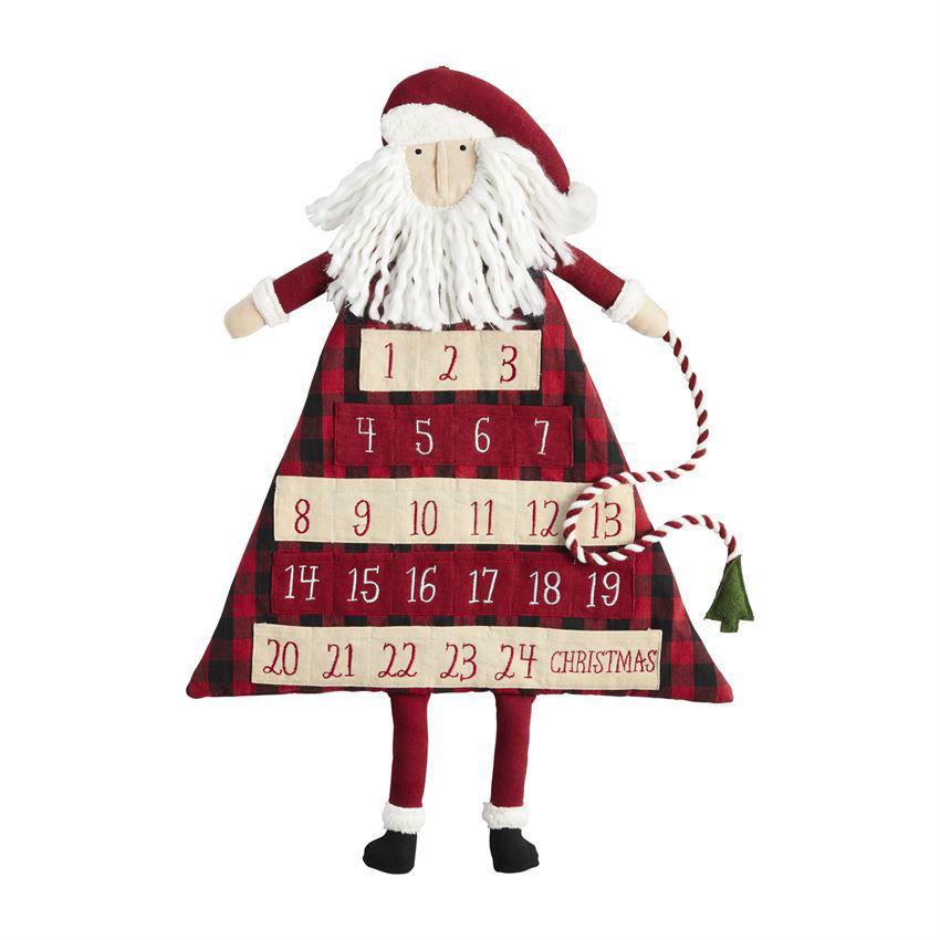 Santa Advent Calendars (Assorted) by Mudpie