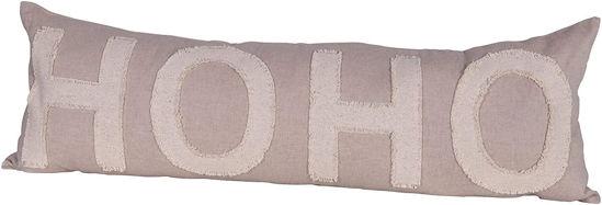 Ho Ho Ho Lumbar Pillow by Creative Co-op
