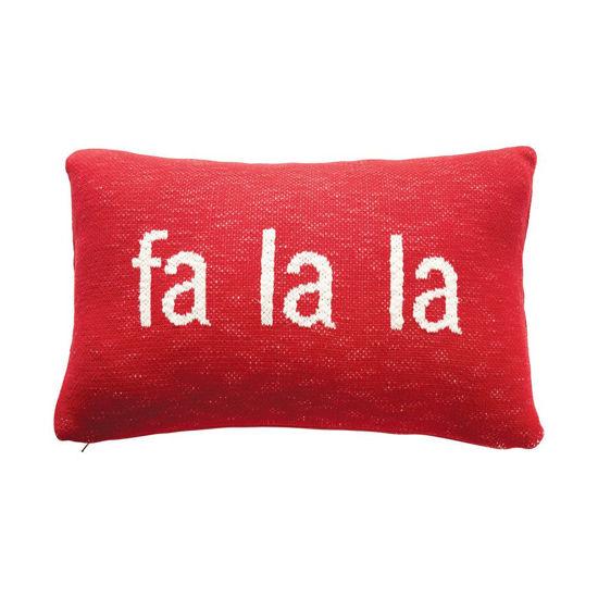 Fa La La Pillow by Creative Co-op