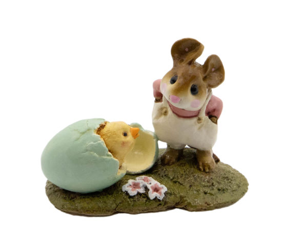 Welcome Chick! M-193 (Cream) by Wee Forest Folk®