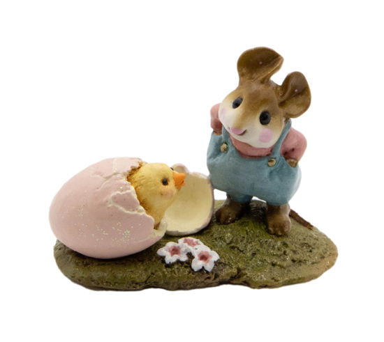 Welcome Chick! M-193 (Blue) by Wee Forest Folk®