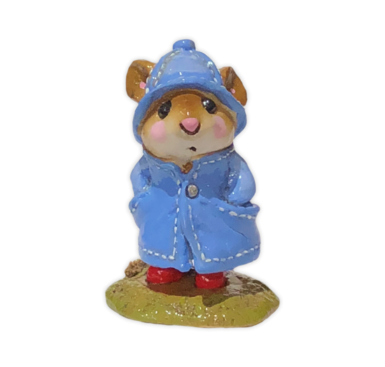 April Showers M-180 (Blue) by Wee Forest Folk®