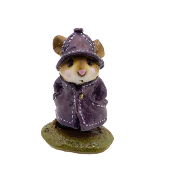 April Showers M-180 (Eggplant Special) by Wee Forest Folk®