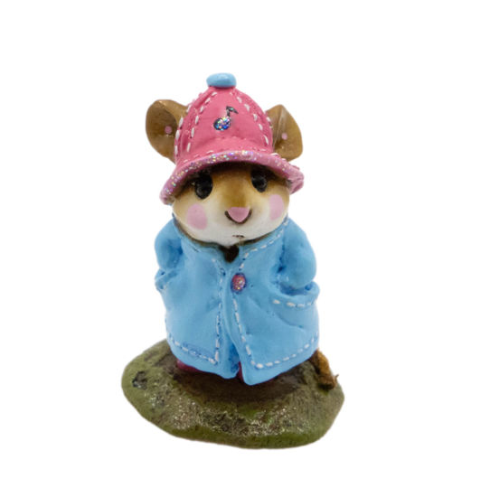 April Showers M-180 (Aqua/Pink Special) by Wee Forest Folk®