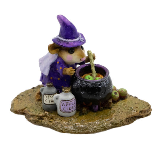Something's Brewing M-215 (Purple) by Wee Forest Folk®
