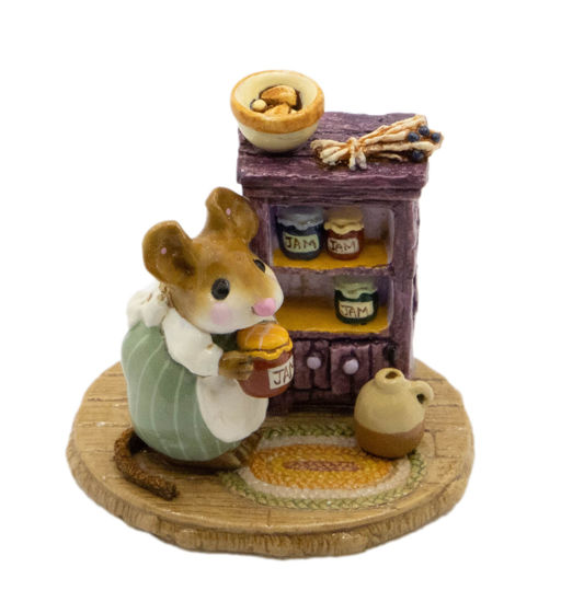 Jenny's Jams & Jellies M-256 (Green/Purple Special) by Wee Forest Folk®