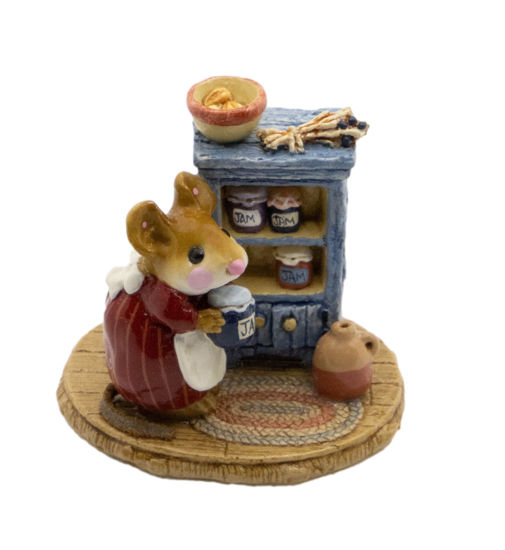 Jenny's Jams & Jellies M-256 (Red/Blue Special) by Wee Forest Folk®