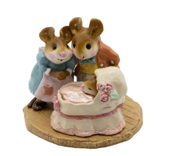 The Wee Family M-259 (Pink) by Wee Forest Folk®