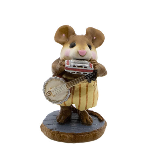One-Mouse Band M-196a (Yellow) by Wee Forest Folk®