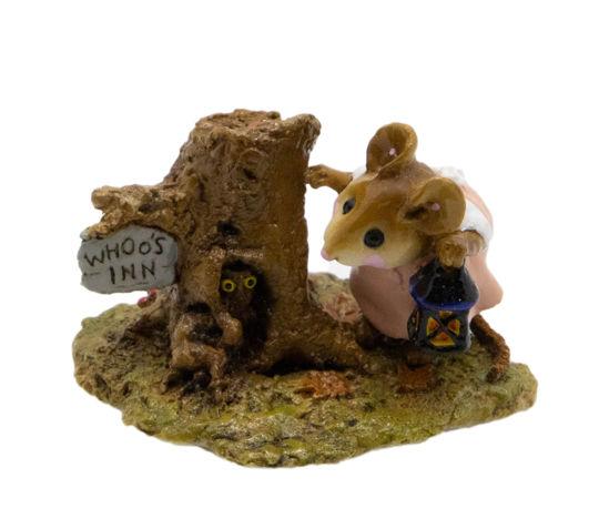 Whoo's Inn M-249 (Peach) by Wee Forest Folk®