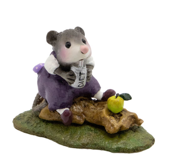 Possum's Pizza Party M-244z (Purple Special) By Wee Forest Folk®