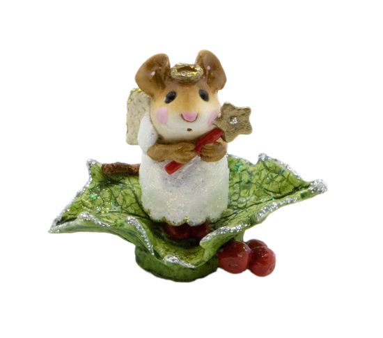 Little Holly Angel M-230 (White) by Wee Forest Folk®