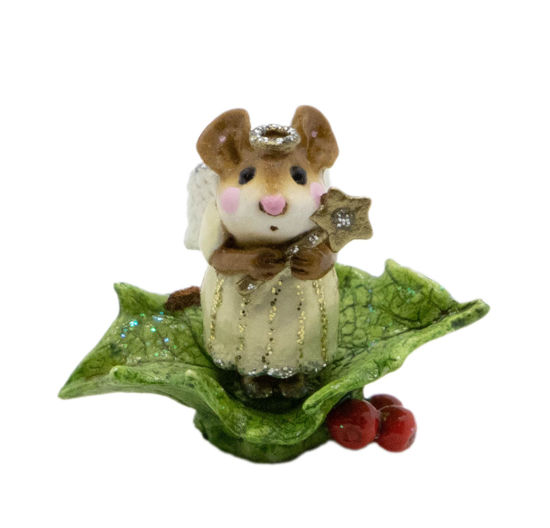 Little Holly Angel M-230 (Gold) by Wee Forest Folk®