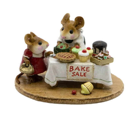 Mousey's Bake Sale M-220 (White Special) by Wee Forest Folk®