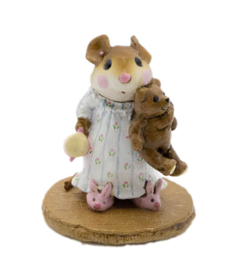 Mousey's Bunny Slippers M-218 (White) By Wee Forest Folk®