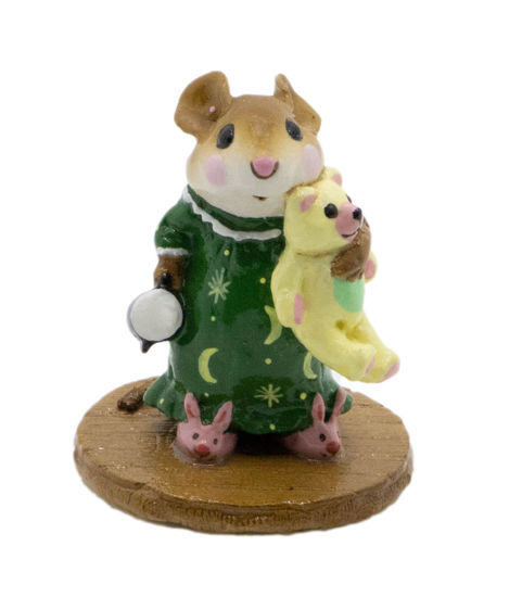 Mousey's Bunny Slippers M-218 (Celestial Special) By Wee Forest Folk®