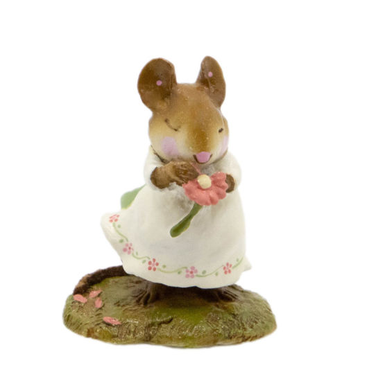 Loves Me M-233 (White w/Flowers) By Wee Forest Folk®