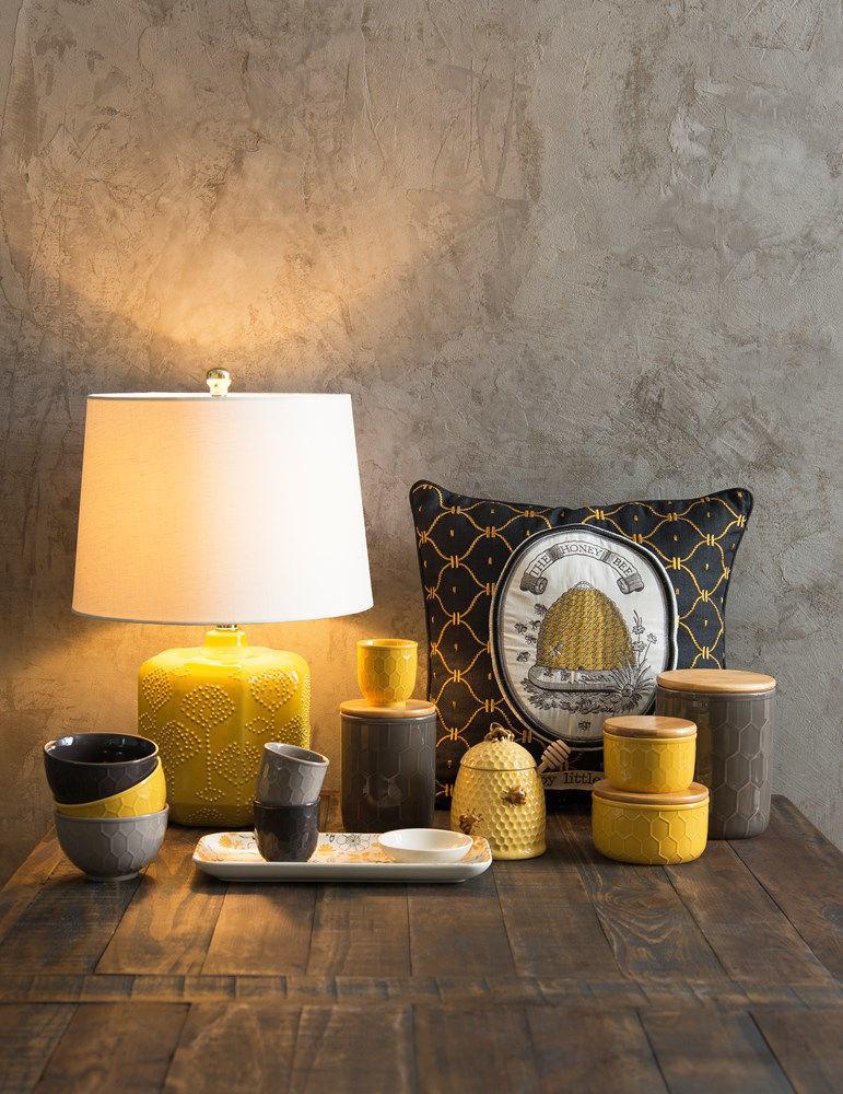 Bee Skep Honey Jar Set by Creative Co-op