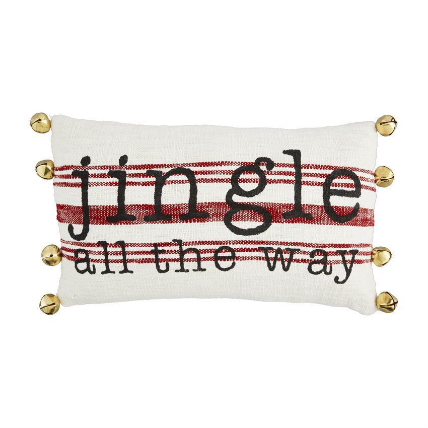 Jingle Bells Pillows by Mudpie