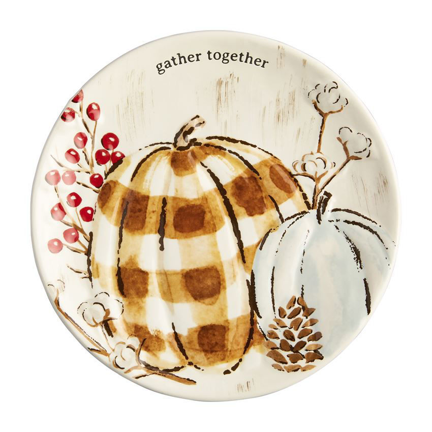 Thanksgiving Salad Plate by Mudpie