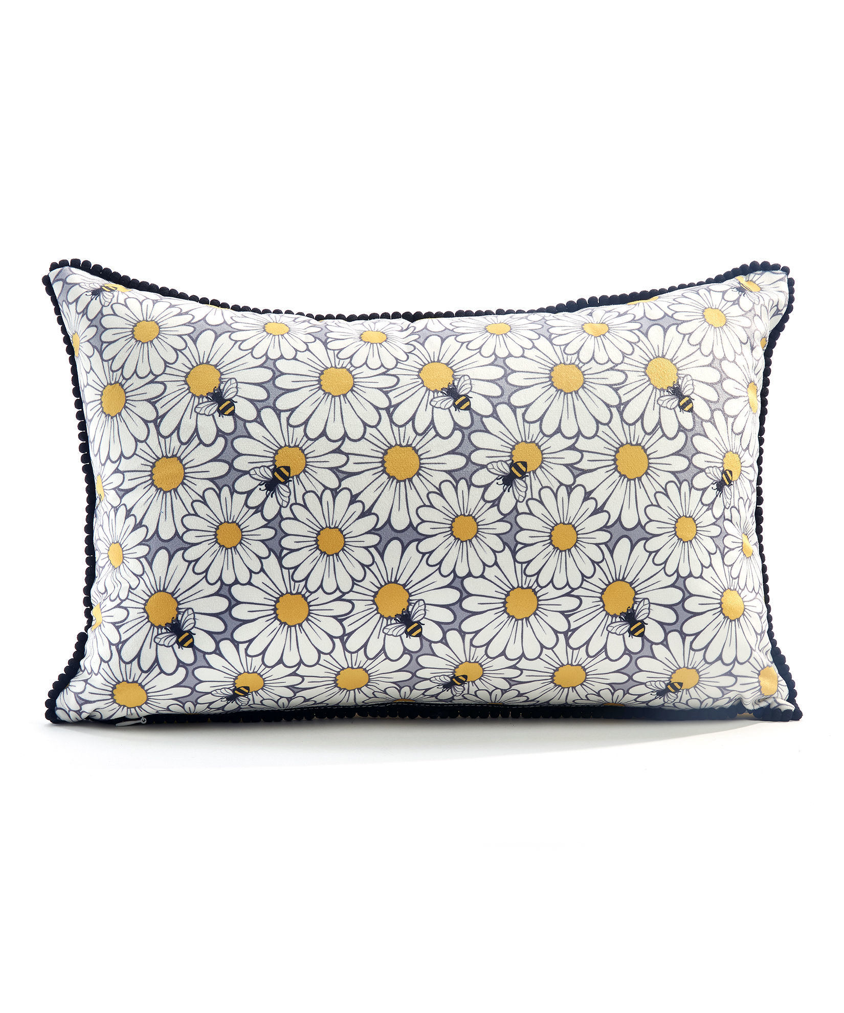 Bee Happy Pillow Cover by Giftcraft