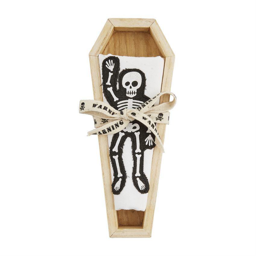 Coffin Cracker Dish & Towel Sets by Mudpie