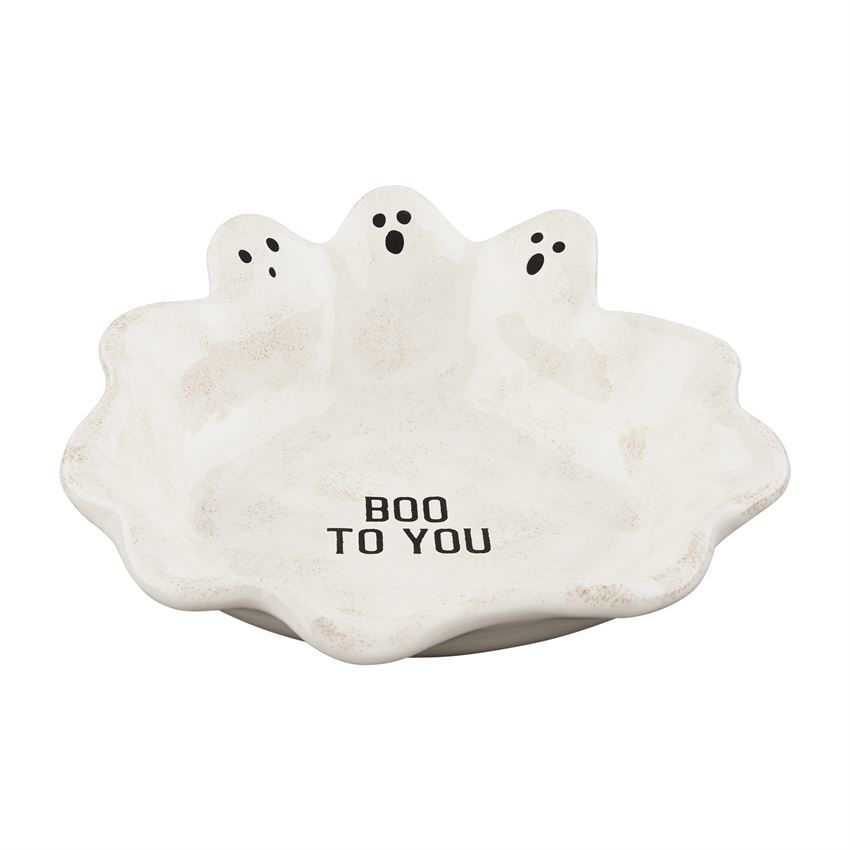 Ghost Candy Dish by Mudpie