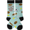 These Are My Game Day Socks by Primitives by Kathy
