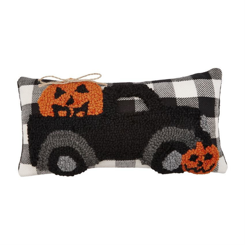 Halloween Hooked Mini Pillows by Mudpie