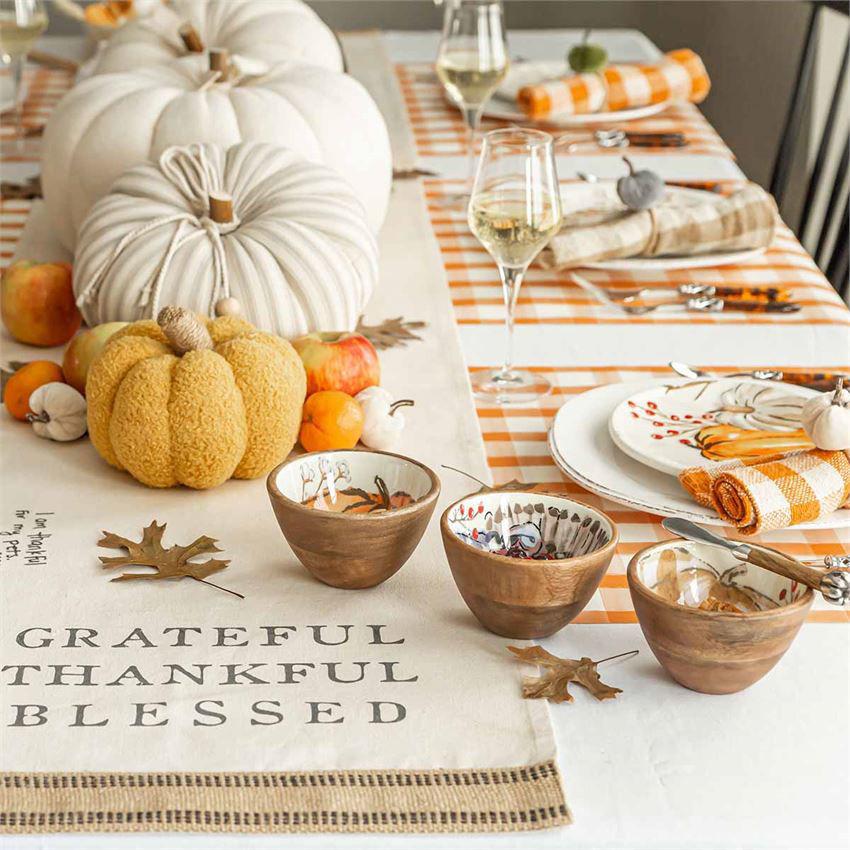 Thanksgiving Dip Bowl Sets by Mudpie