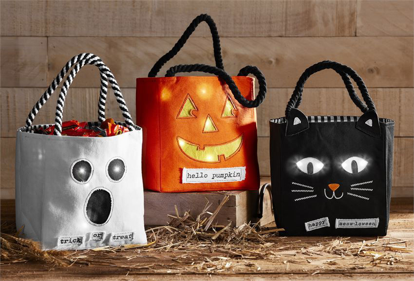 Halloween Candy Bags (Assorted) by Mudpie