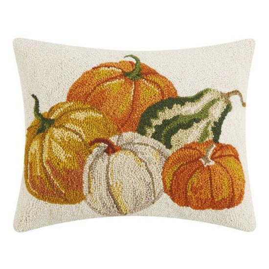Harvest Pumpkins Pillow by Peking Handicraft