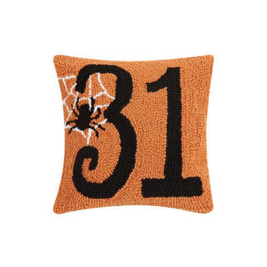 October 31 Wool Pillow by Peking Handicraft