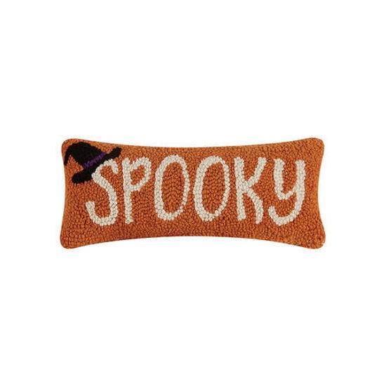 Spooky Wool Pillow by Peking Handicraft